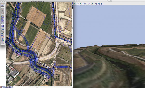 Terreno con immagine GoogleMap come texture