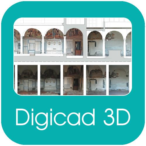 Digicad 3d fotogrammetria architettonica aerea e for Programmi architettura 3d