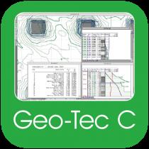 Geo-Tec C – Software per complessi di fondazioni superficiali, pali e gruppi di pali