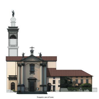 Fotomosaico di chiesa con DigiCad 3D