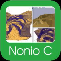 Nonio C – Terreno 3D, movimenti terra, cave e discariche